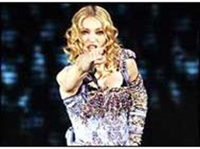 Madonna Yahudi bayramında İsrail'de